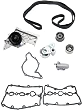 Timing Belt Kit for A6 / A6 Quattro 02-04 / A4 Quattro 02-06 With Water Pump and Valve Cover Gasket 6 Cyl 3.0L Eng.