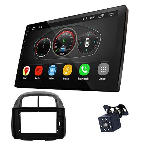 UGAR EX10 10' Android 10.0 DSP Car Radio mit 11-270L Panel Dash Instalación Fascia Kit para Subaru Justy 2007-2011 / Toyota Passo 2004-2010