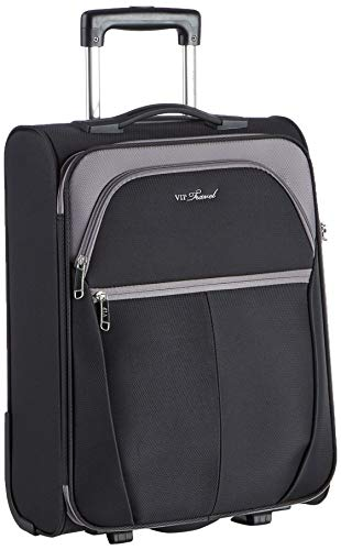 WITTCHEN Unisex-Erwachsene VIP Collection Koffer Luggage-Suitcase, Grau, S (54x38x20cm)