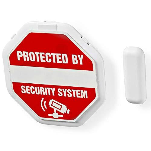 TronicXL 2 Stück Premium 85dB Türalarm/Fensteralarm mit Magnetsensor - Tür Fenster Sirene Alarm Alarmanlage Mini elektrisch
