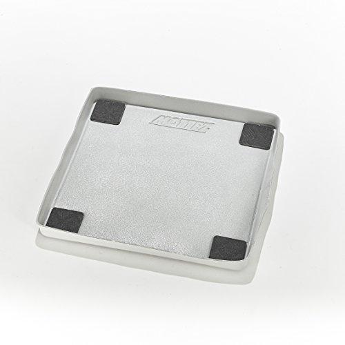 Mottez b512V Tappeto di ritenzione di acqua e anti-vibrazione per lavatrice a caricamento frontale, Grigio