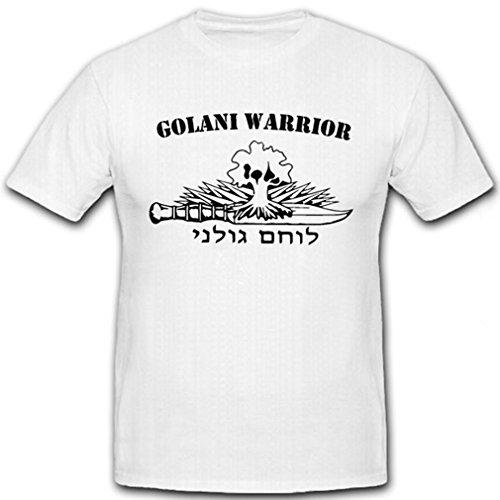 Golani Warrior Golani Warrior Brigade Israeli 36 Division #7201 - Camiseta