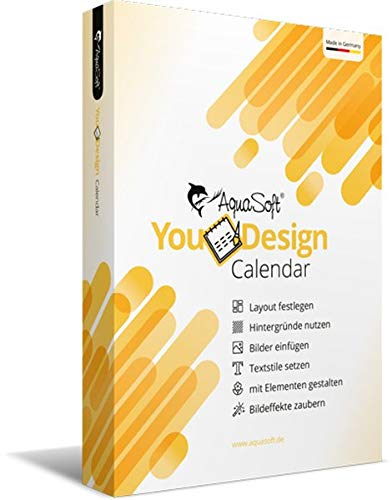 AquaSoft YouDesign Calendar - Fotokalender selbst gestalten|Original|2|N/A|PC|Disc|Disc