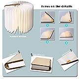 Zoom IMG-1 lampada da libro pieghevole a