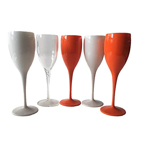 KJGHJ 1 Unids Fiesta Vino Blanco Champagne Cupes Cóctel Vidrio Champagne Flautes Vino Taza Copa Plateado Plástico Cerveza Vidrio Vidrio Tazas Whisky, Flautas Champagne