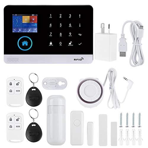 Fácil de Instalar Alarma de Seguridad para el hogar Alarma de Video de(Australian regulations (100-240V))
