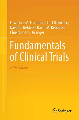 Top 10 best selling list for fundamentals of clinical trial design