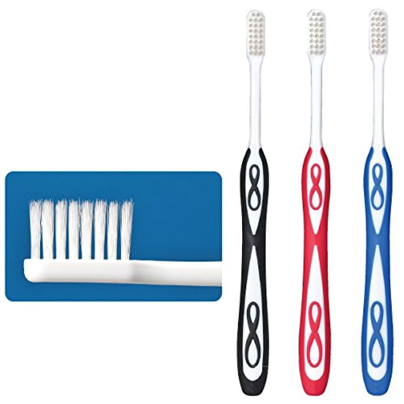 飽和するシネウィペフLover8(ラバーエイト)歯ブラシ レギュラータイプ オールテーパー毛 Mふつう 30本入