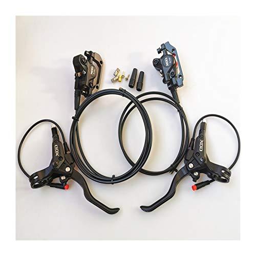 CML E-Bike Brake Disco Idraulico Tagliare Il Freno di Potenza 2pin Spina Impermeabile Pluppo Fai da Te Assemblaggio Ebike Scooter Freni Posteriori Anteriori (Color : A Pair Front Rear)