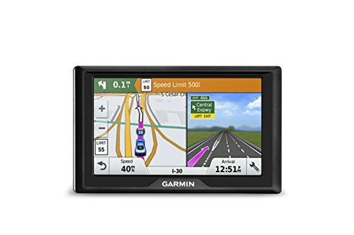 Garmin Drive 50 USA LM GPS Navigator System with Lifetime Maps, Spoken Turn-By-Turn Directions,...
