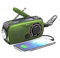 Image of Emergency Radio Hand Crank...: Bestviewsreviews