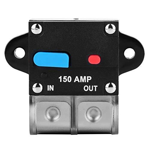 Interruptor de circuito de 150A 32 V, interruptor automático de reinicio automático, inversor, interruptor de reinicio manual para automóvil
