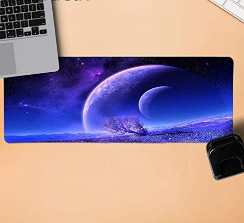 Muis Pad Universe Sky Mooie Tapijt Comfort Muis Mat Gaming Mousepad Duurzame Rubber Muis Mat Pad Mat Tafelbeschermer 800 * 300 * 3 Mm