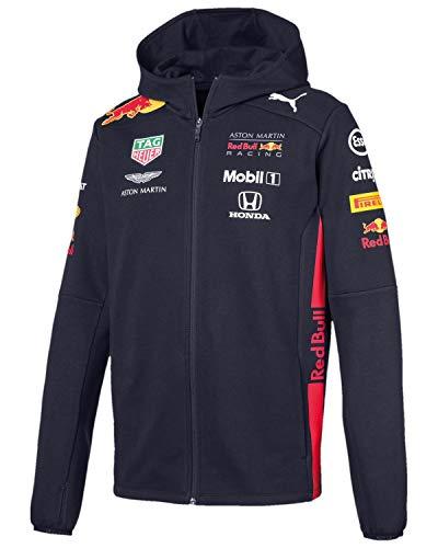 PUMA Red Bull Racing Herren Team Kapuzen-Sweatjacke Night Sky XS
