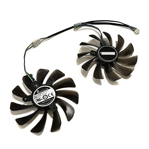 Jinyouqin per GeForce GTX 1070 Ti AMP Edition GPU VGA Ventola di Raffreddamento del Raffreddamento per GeForce GTX 1070 AMP Guere Schede Video Come Sostituzione