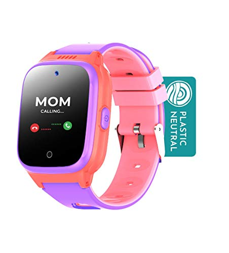 Cosmo JrTrack Kids Smartwatch - Voice and Video Call - GPS Tracker -...