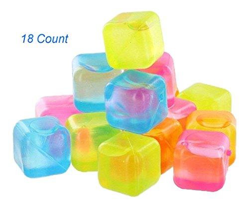DINY Wiederverwendbare Eiswürfel BPA-Frei 18–36–54Zählen Multi Color
