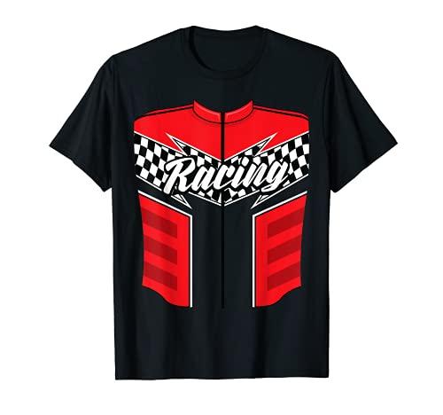 Disfraz de chofer de coche de carreras de Halloween Drag Racer regalo Camiseta
