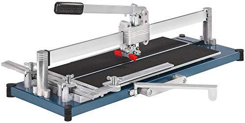 Kaufmann Fliesenschneider TopLine PRO 630 mit einer Gesamtschnittlänge von 630 mm Robust Ausführung mit Stahl-Grundplatte 10.845.02
