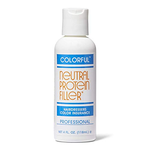 COLORFUL Neutral Protein Filler Hairdressers Color Insurance 4 oz