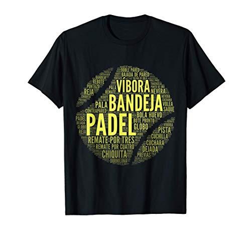 Padel Hombre Mujer Jugador Pádel Tenis Regalo Camiseta