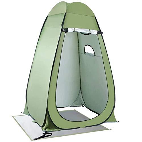 Tienda de Campaña para Inodoro Plegable Ducha de privacidad WC portátil tienda de la playa Cambio Vestir Mochila acampando surge la habitación...
