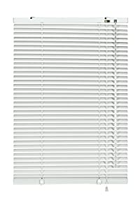 Gardinia Jalousie 6920 - Persiana (Aluminio, 25 mm, 80 x 240 cm), Color Blanco