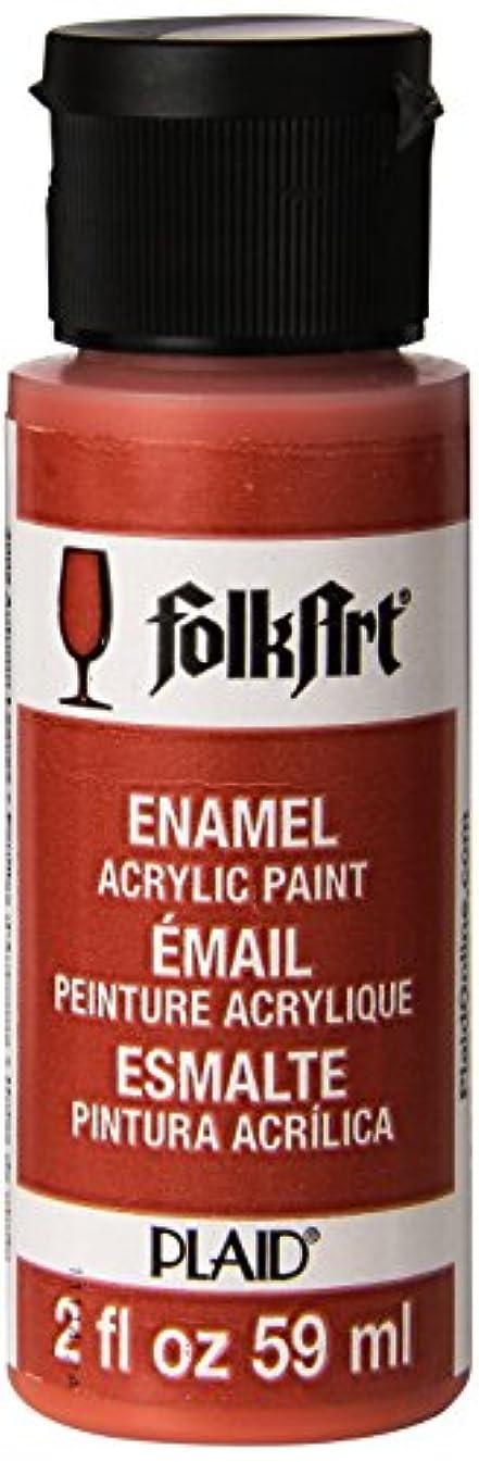 FolkArt Enamel Glass & Ceramic Paint in Assorted Colors (2 oz), 4005, Autumn Leaves