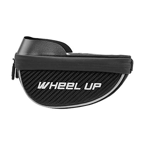 Bolsa para manillar de bicicleta con funda de lluvia para teléfono de 6,5 pulgadas (6,5 pulgadas)