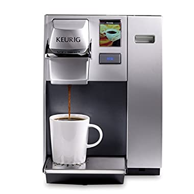 Keurig K155 Office Pro Single Cup Commercial K-Cup Pod Coffee Maker, Silver