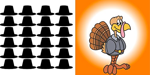 Find Discount Work House Pin The Hat on The Turkey Party Thanksgiving Game