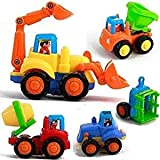Toy Tech's Unbreakable Automobile Car Toy Set (4 Toys)