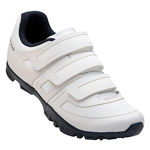 PEARL IZUMI Women's All-Road v5 Cycling Shoe, White/Navy, 40