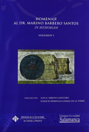 Homenaje al profesor Marino Barbero Santos (HOMENAJES)