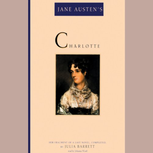 Jane Austen's Charlotte audiobook cover art