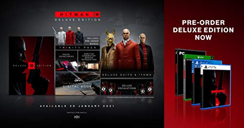 Hitman III Deluxe Edition (PS5)