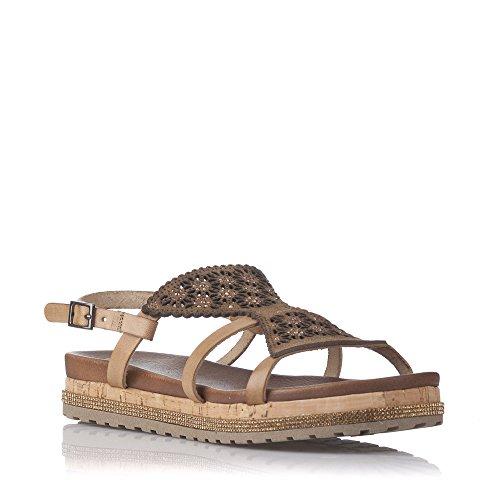 Porronet Zapato - Mujer Color Marrón Talla 38