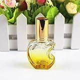 XKMY 1 botella de perfume de vidrio de 12 ml, atomizador de spray recargable en...