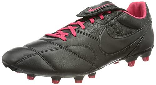 Nike The Premier II FG, Zapatillas de ftbol Hombre, Black Black Very Berry, 44.5 EU