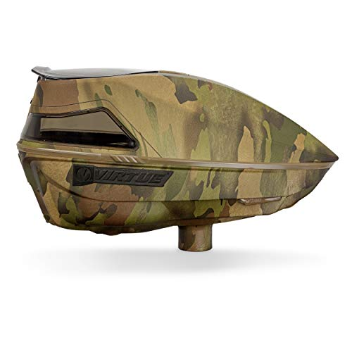 Virtue Spire IV Electronic Paintball Loaders/Hoppers - 280 Brush Camo