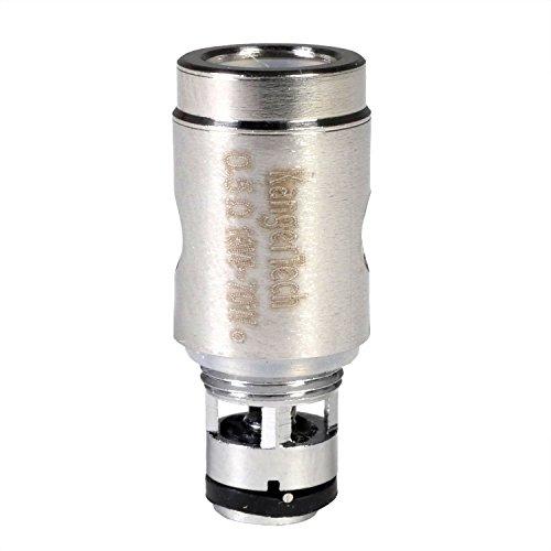 KangerTech SSOCC Clapton Coil Verdampferkopf, 0.5 Ohm, 1er Pack (1 x 5 Stück)