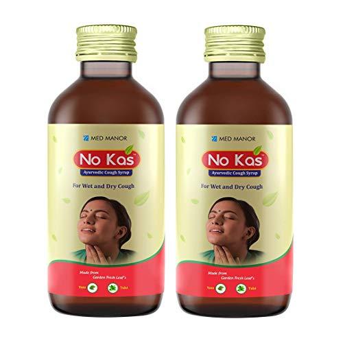NO KAS Ayurvedic Cough Syrup 100ml