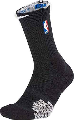 NIKE Grip Quick Crew NBA Calcetines, negro, M-38-42 EU Unisex Adulto