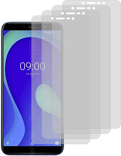 4X Crystal Clear klar Schutzfolie für Wiko Y80 Bildschirmschutzfolie Displayschutzfolie Schutzhülle Bildschirmschutz Bildschirmfolie Folie