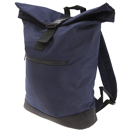 Bagbase Roll-Top Backpack / Rucksack / Bag (12 Litres) (One Size) (French Navy)