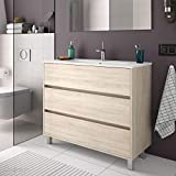 Salgar ARENYS Mueble+Lavabo Roble Caledonia - Medida: 80 CMS