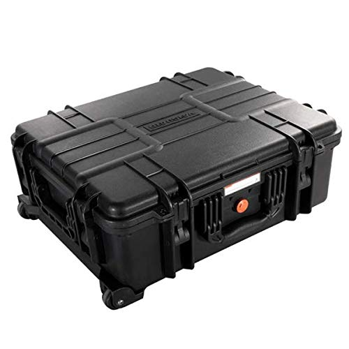 Vanguard Supreme 53D - Maletín Sumergible con Compartimentos, Color Negro
