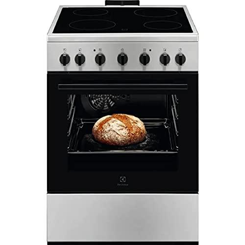 Electrolux LKR620002X - Cucina Induzione con Forno Elettrico, N° 4 Fuochi, 60x60 cm, Inox