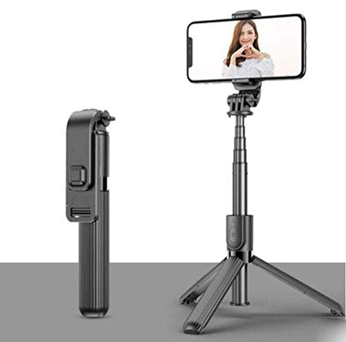 Bluetooth Selfie Stick Universele Mini Selfie Stick Draadloos Geïntegreerd Statief Voor Android Smartphone Camera Artefact Vibrato Verlengd Live