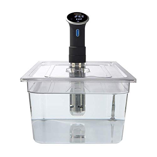 Sous Vide Polycarbonatbehälter mit passendem Deckel für den Anova Sous Vide Herd - 20Ltr